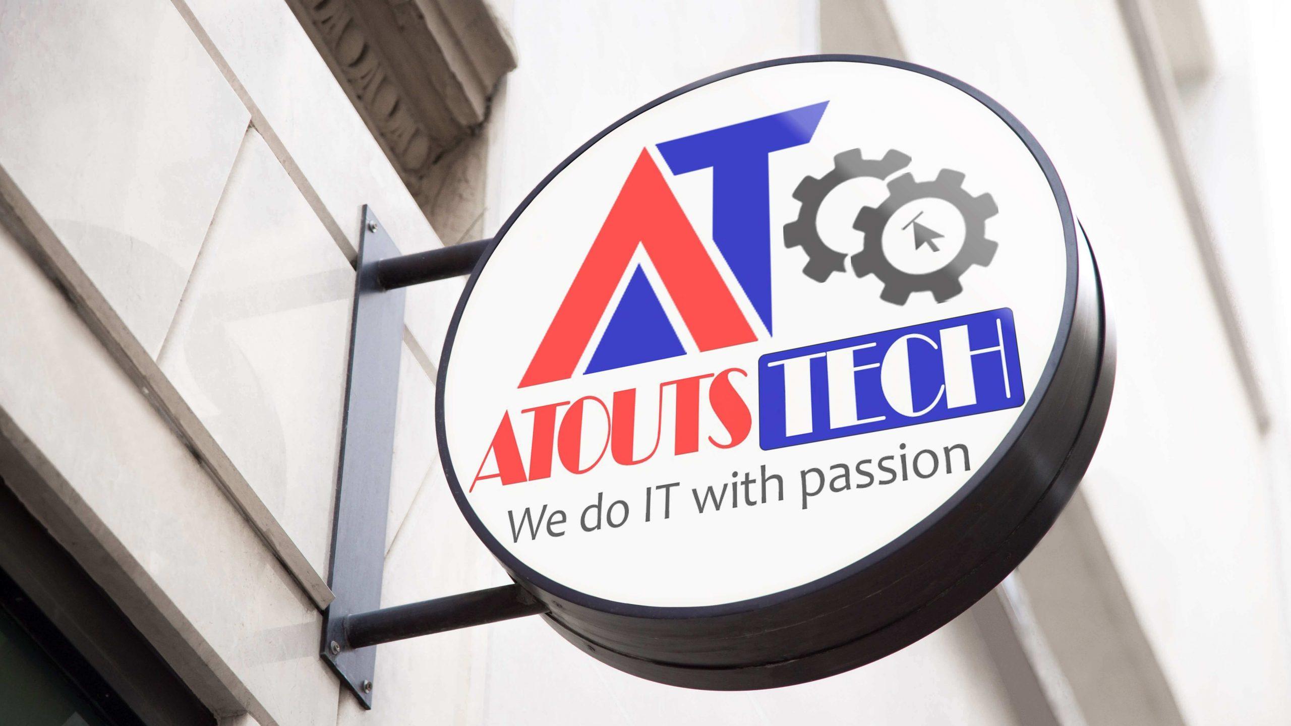 AtoutsTech Logo Mockup scaled