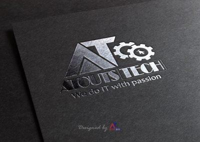 AtoutsTech Silver Logo