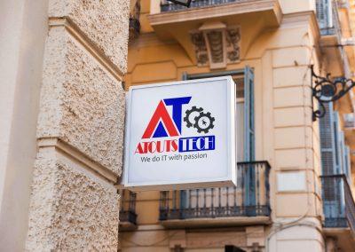 AtoutsTech Mockup Logo